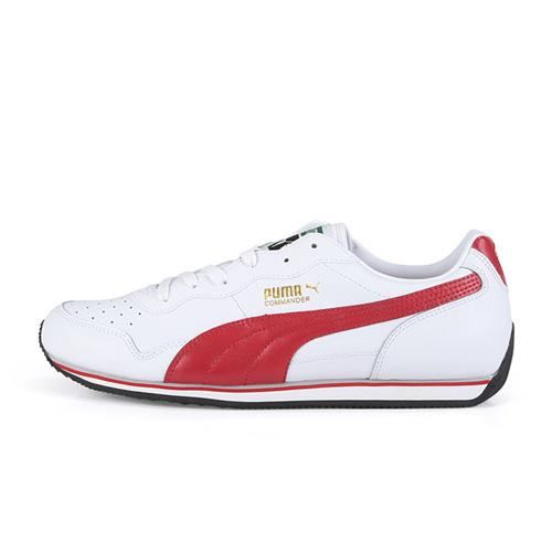 puma 09年新款休闲鞋(白/红)1pu346157-05