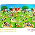 """【康乐】 迪斯尼""""米奇和朋友""""儿童游戏地垫 环保垫(中号)"""